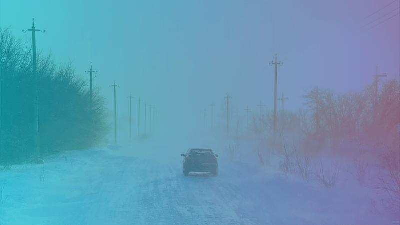 Autoschade door gladheid: wat dekt de autoverzekering?